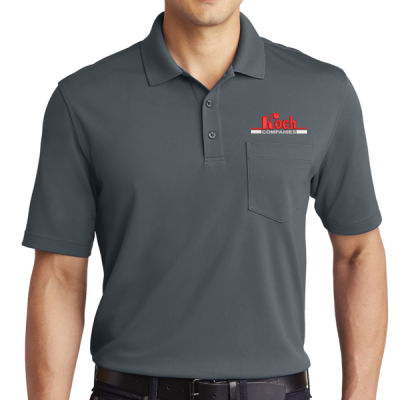 Port Authority - Dry Zone UV Micro-Mesh Pocket Polo - Embroidered Logo Thumbnail