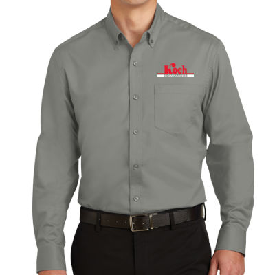 Port Authority - SuperPro Twill Shirt - Embroidered Logo Thumbnail