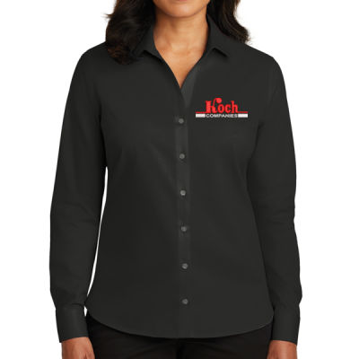 Red House - Ladies Non-Iron Twill Shirt - Embroidered Logo Thumbnail