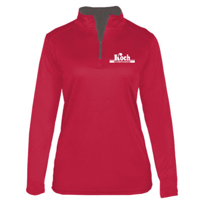 Badger - Women's B-Core Quarter Zip Pullover - Screen Printed Logo Thumbnail
