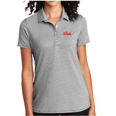 Port Authority ® - Ladies Gingham Polo - Embroidered Logo Thumbnail
